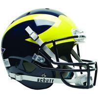 Michigan Wolverines Schutt Xp Full Size Replica Football Helmet