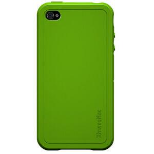 XtremeMac iPhone 4 Green Tuffwrap Silicone Case 4972002