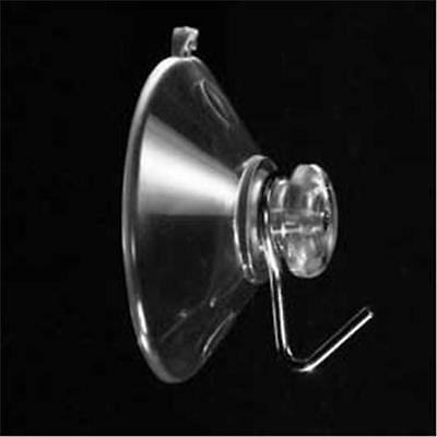 "6  2-3//8/"" USA Premium Suction Cups Metal Angled Hook SuctionCups4U"