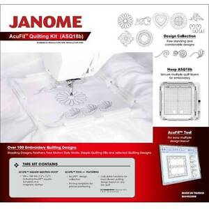 Janome-Acufil-Quilting-Kit-for-the-MC500E-Embroidery-Machine-Hoop-Software-NEW