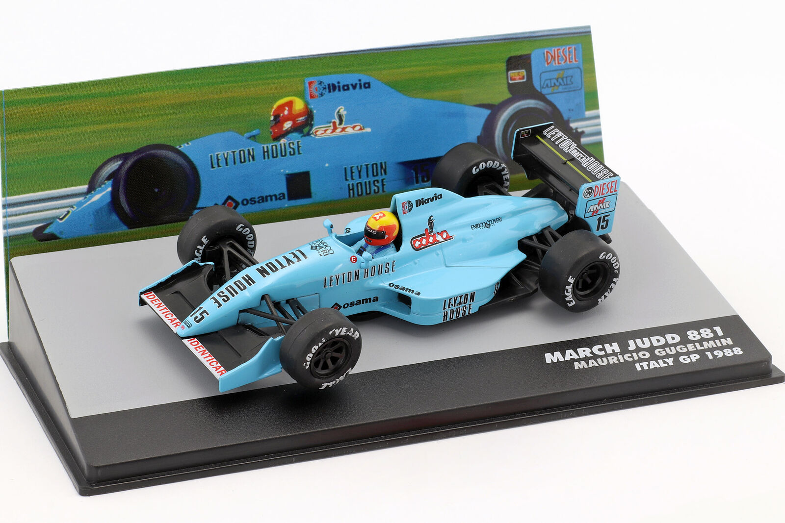 Mauricio Gugelmin March Judd 881 Italien GP Formel 1 1988 1 43 Altaya