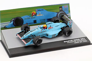 Mauricio-Gugelmin-March-Judd-881-15-Italien-GP-Formel-1-1988-1-43-Altaya