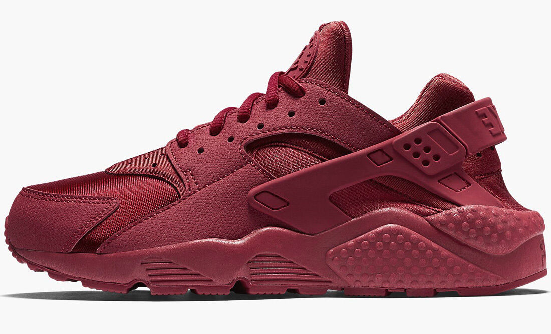 NIKE NIKE NIKE AIR HUARACHE RUN GYM ROT TRIPLE ROT   6-8,5 premium 634835-601 le presto 2bb850