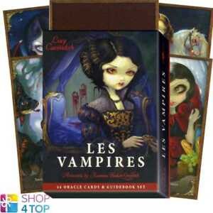 Les-Vampires-Oracle-Cards-Deck-Lucy-Cavendish-Esoteric-Telling-Blue-Angel-New