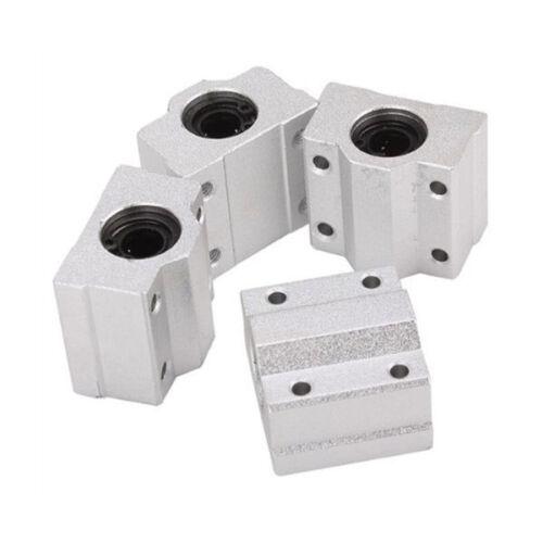 4PCS SCS8UU 8mm Linearlager Ball Bearing Linearschlitten CNC für 3D Drucker