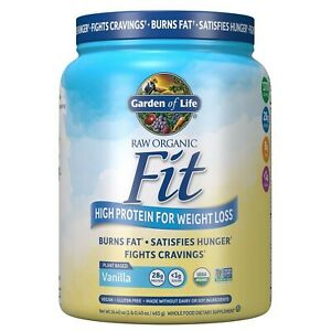 Garden of Life Raw Organic Fit Powder, Vanilla - High Protein for Weight Loss...
