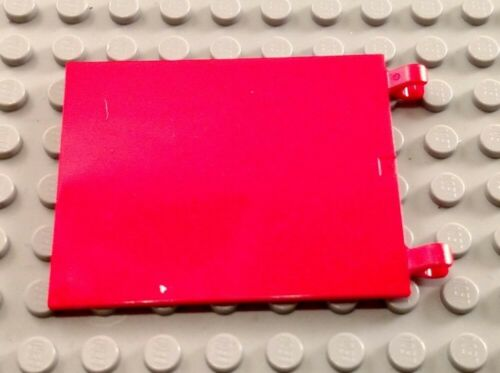 LEGO Red 6x4 Flag Piece with Clips