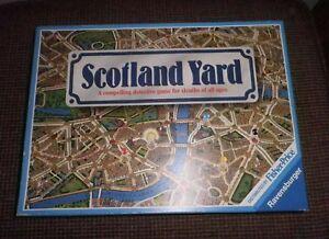 Ravensburger 1983 Scotland Yard A Compelling Detective Game. no.800254.