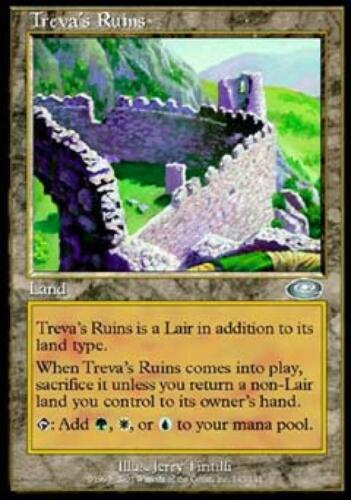 Treva/'s Ruins Near Mint Normal English Magic the Gathering Planeshift Magic Card