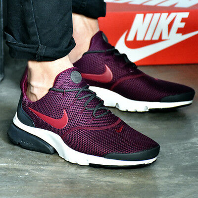 Nike Air Presto Fly SE Bordeaux Anthracite White Noble Red Maroon 908020-601
