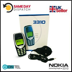 🔥🔥 Nokia 3310 MOBILE PHONE WARRANTY FIRST CLASS UK STOCK + Free Accessories
