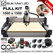 1015 Work Bee Cnc Router Machine Full Kit 4 Axis Wood Cnc Router Engraver Mill