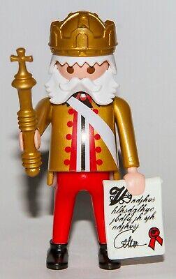 Playmobil Lotx5 White Long Split Beard Mustache Accessories King Wizard Santa
