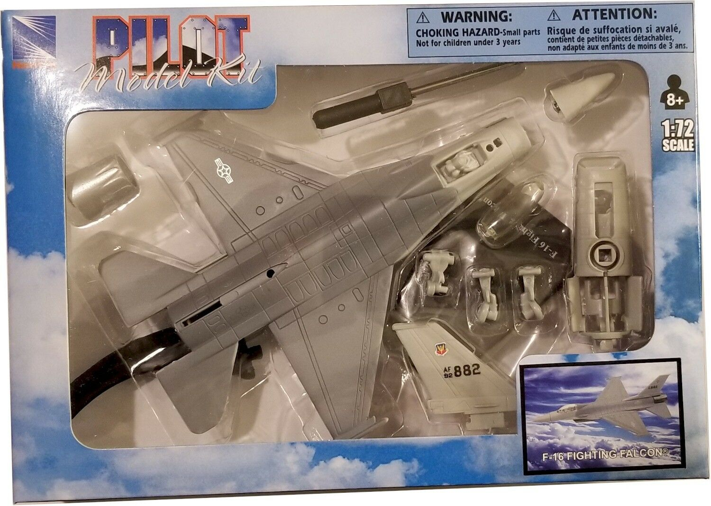 Heller 1:72 F-16 A//B Fighting Falcon Plastic Aircraft Model Kit #80337U