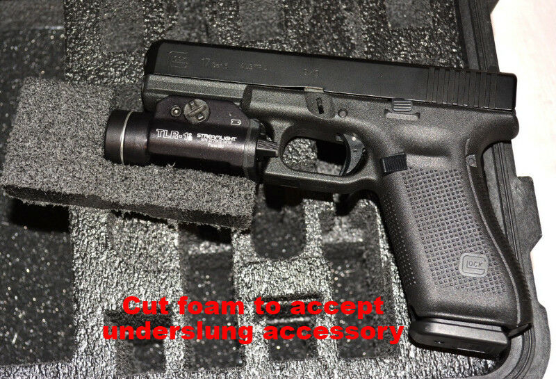 ArmourCase includes Pelican 1300 precut 2 Pistol Pistol 2 + 12 mags handgun gun case foam 27a093