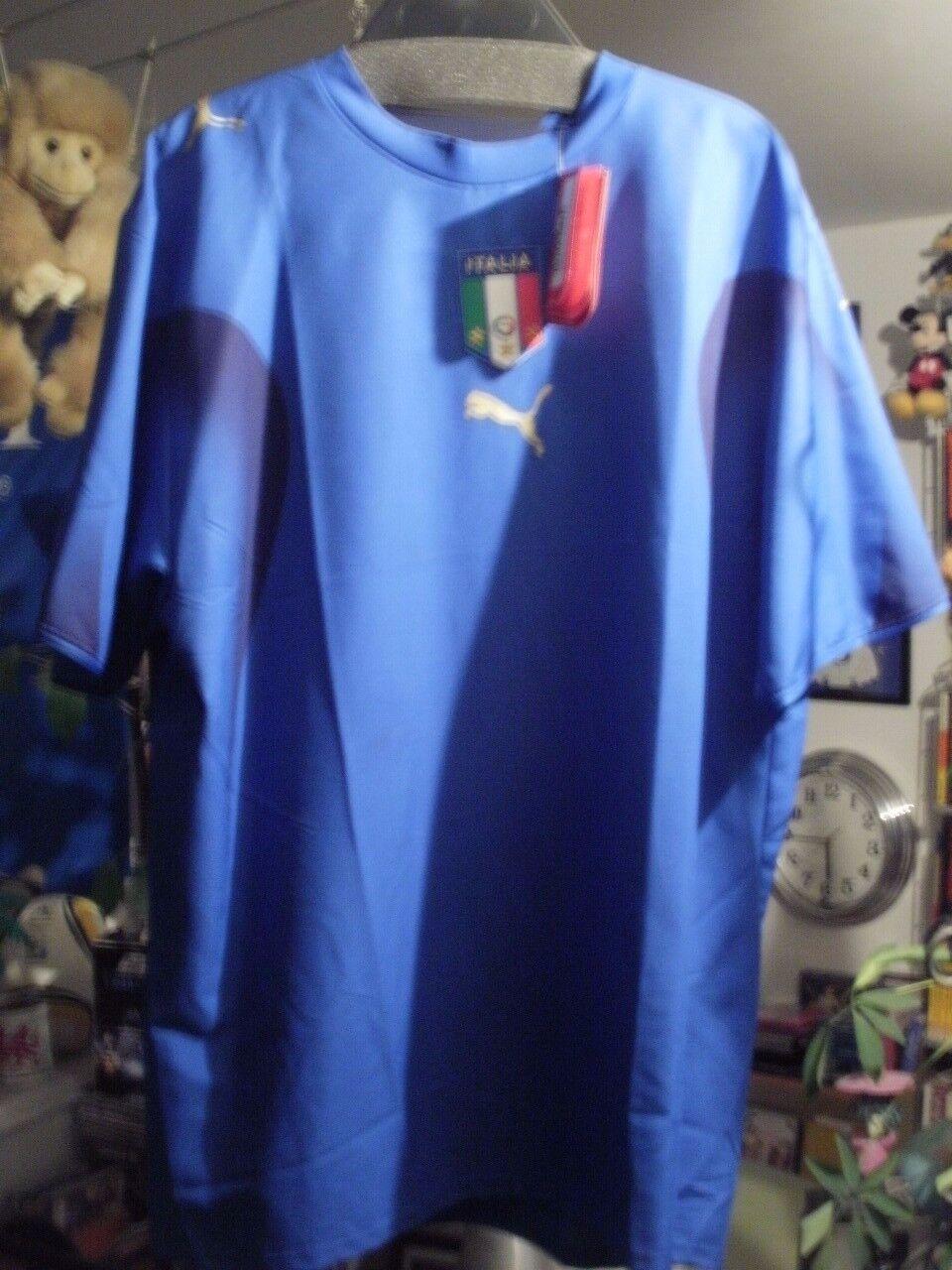RARES Original-TRIKOT Gr. XL  ITALIEN   ITALIA ITALIA ITALIA  NEU mit Etikett Fussball Fußball d4b6ee