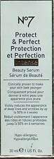 NEW!   Boots No7 Protect & Perfect Intense Beauty Serum 1 Fl Oz (30 Ml)