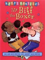 Mr Biff the Boxer [Happy Families Series] Allan Ahlberg Very Good Book