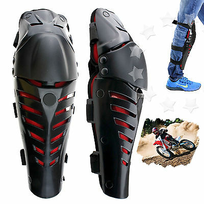 Motorcycle Protective Gear Knee Pads Protector Body Guards Pair Kit UK
