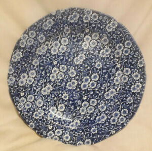CROWNFORD-CHINA-Staffordshire-England-Calico-Plate-10