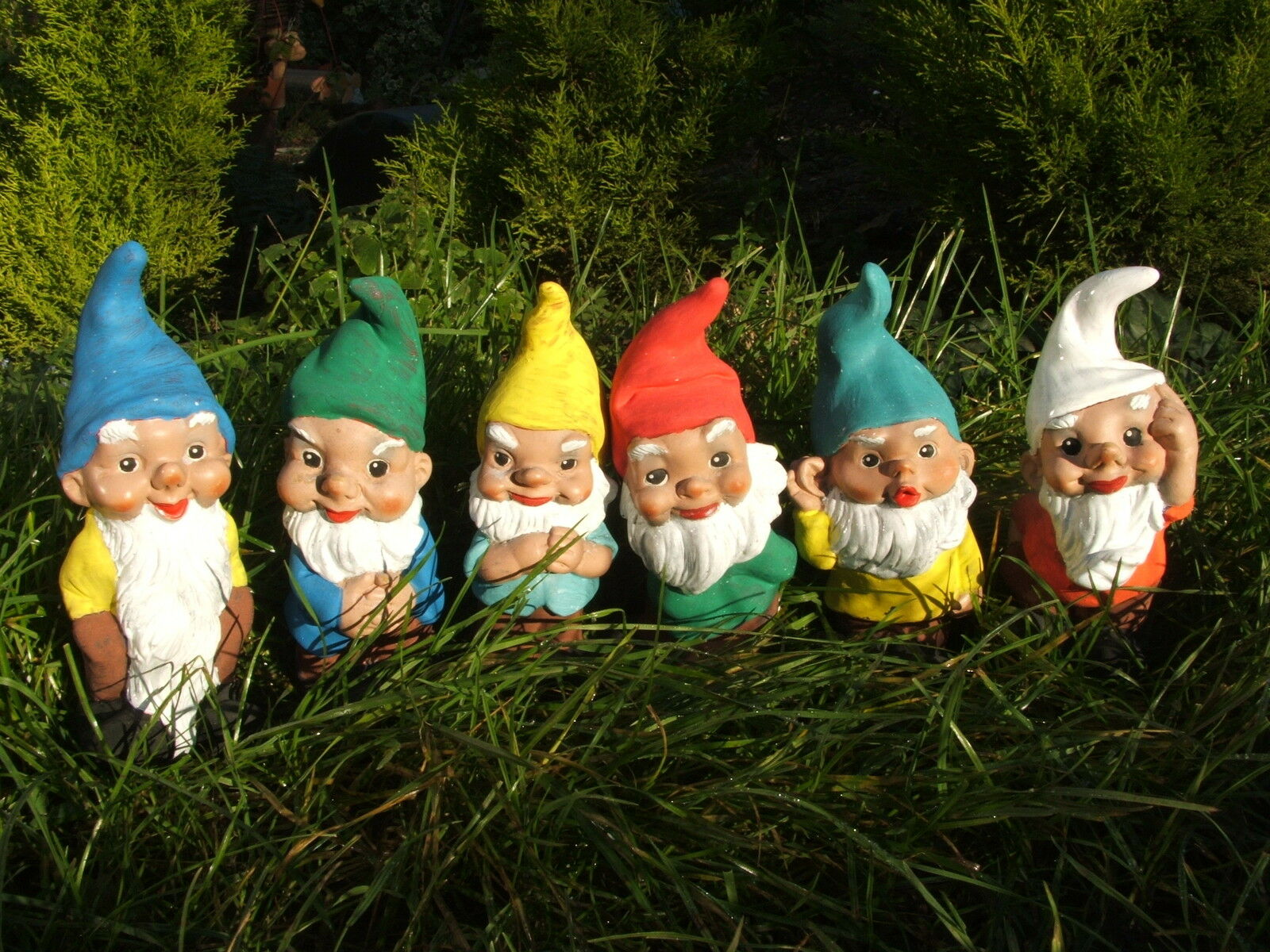 Molde De Látex Moldes Moldes 6 Piezas Set Lindo Jardín Gnome