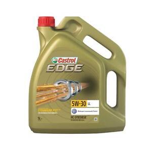 Castrol-Edge-5W-30-LL-Motoroel-mit-Titanium-FST-5-Liter