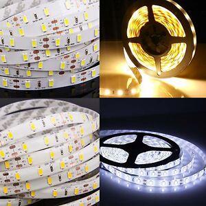 1-10M-Waterproof-300-LEDs-SMD-5630-3528-LED-Strip-Lights-Adapter-FR-Controller