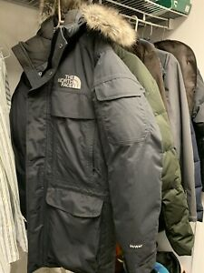 THE-NORTH-FACE-Mcmurdo-III-Down-Parka-550-Fill-Down-Jacket-Men-039-s-Size-M-Mint