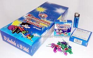 100-400-Panda-KOMETEN-KNALLER-Silvester-Jugend-Kinder-Party-Feuerwerk
