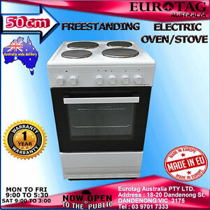 Eurotag-50cm-Freestanding-Electric-Oven-Solid-Cooktop-STOVE-RRP-799-Made-in-EU