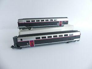 JOUEF-JUNIOR-TGV-INOUI-2-VOITURES-D-039-EXTREMITES-AVEC-UN-BOGIE-PORTEUR