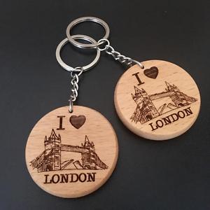 London Tower Bridge Souvenirs Men Him Gift Keyrings Keychain Gifts