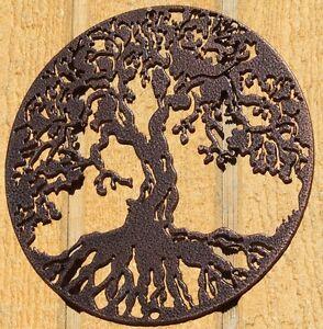 Image Is Loading Tree Of Life Metal Wall Art Home Decor