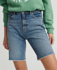 Superdry-Damen-Bermuda-Boy-Shorts