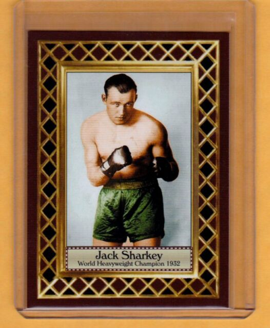 Jack Sharkey '32 World Heavyweight Boxing Champ, Fan Club serial numbered /300