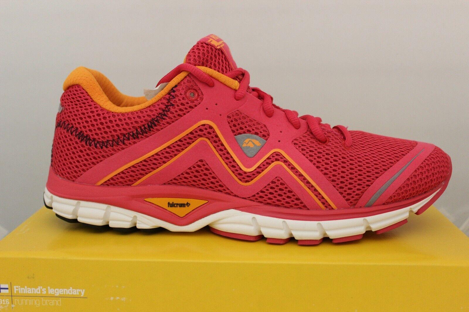 Women's Karhu Fluid3 Running Shoes Hibiscus/Tiger F200121 Brand New