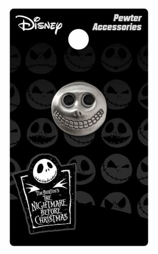 Pin Barrel Mask Pewter Lapel Licensed 26523 Nightmare Before Christmas