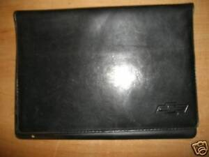2003 2004 CHEVROLET CORVETTE MONTE C OWNERS MANUAL CASE