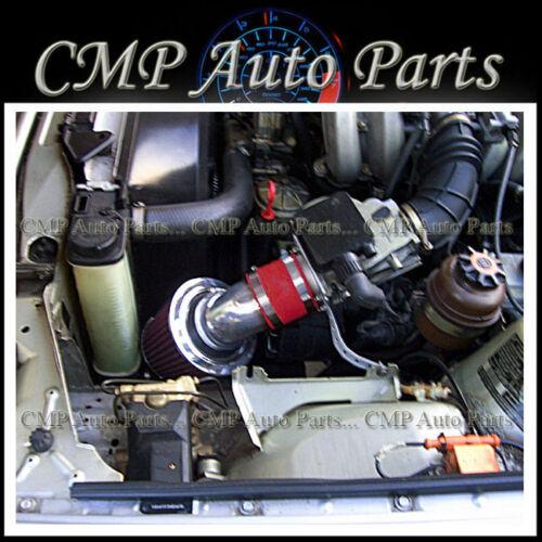 RED  AIR INTAKE KIT FIT 1992-1995 BMW 318i 318is 318ti 1.8 1.8L L4