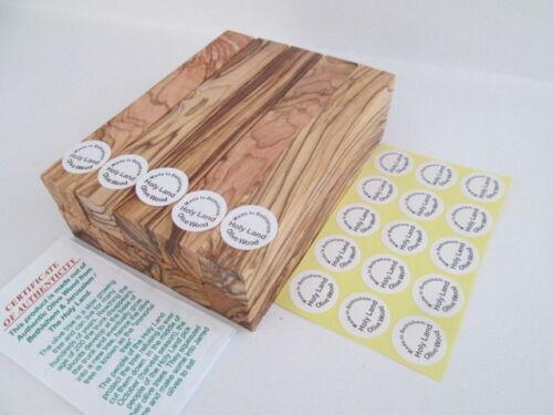 Genuine Olive Wood Pen Turning Blanks From Bethlehem Premium Quality
