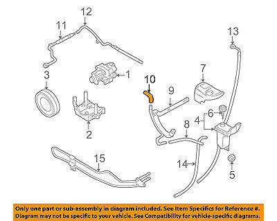 power steering diagram for 2003 audi a4 audi oem 03 05 a4 power steering suction hose 8e0422887d ebay  audi oem 03 05 a4 power steering