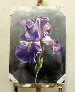 Painting-Flowers-Handmade-Oil-Painting-Picture-Oil-Frame-Pictures-G95848