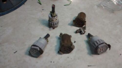 hood 126 FEMALE gorn 7f winchester Allied//Amphenol WPI 7-Pin MINI-HEX Connector