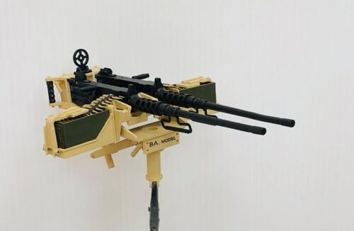 BAModel Twin 50Cal M2HB Browning Upgrade for 1//10 HG P408 Weapon Mod