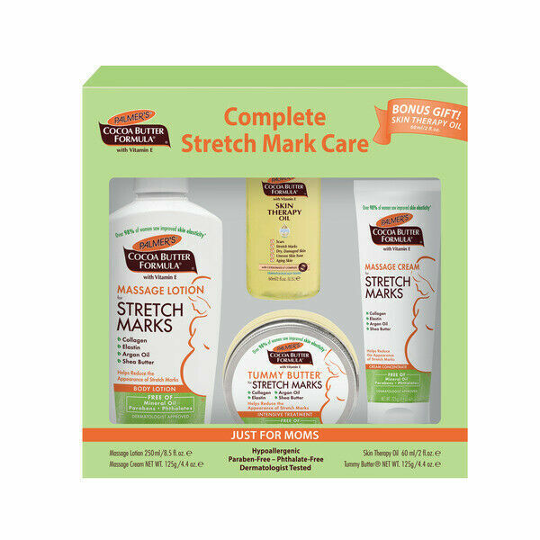 Palmers Cocoa Butter Formula Stretch Mark Care Set Pack Of 4 For