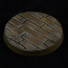 40mm (5) Wood Plank Custom Scenic Resin Miniature Base Fantasy Warhammer 40k