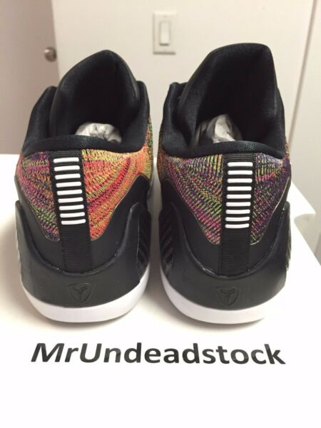 cheap for discount db879 9eb57 Nike Kobe IX 9 Elite Low ID Multicolor Multi Color Flyknit Sz 11 HTM. Hover  to zoom