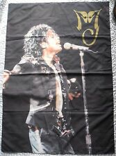 MICHAEL JACKSON - BAD LIVE - DRAPEAU MJ HISTORY FLAG 1996 TRIUMPH INTERNATIONAL