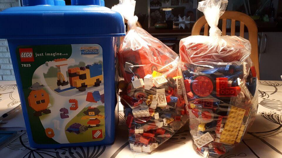 Lego blandet, Legoklodser