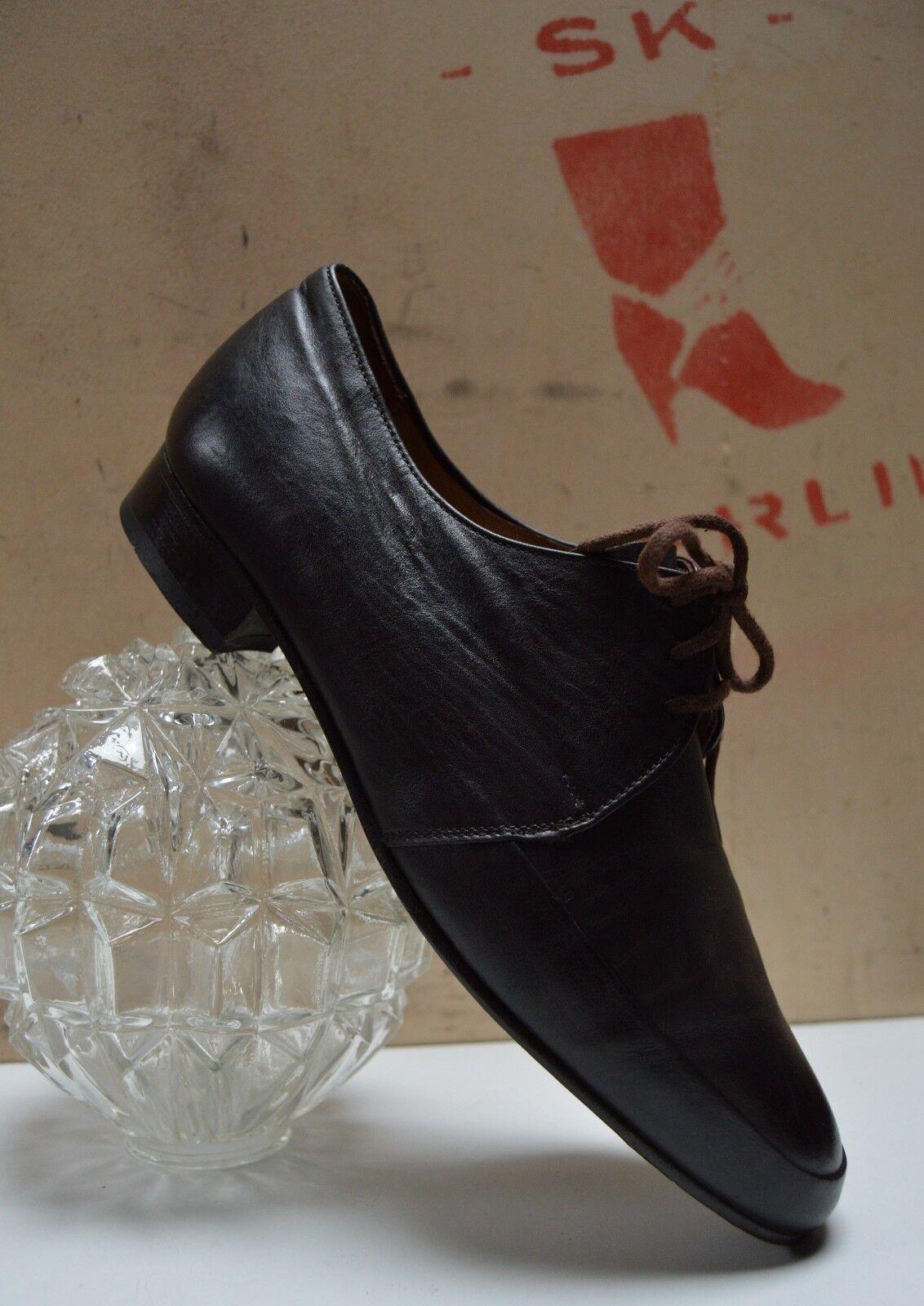 Salamander Atelier Herren Schnürschuhe 90s TRUE Vintage Halbschuhe braun Loafer